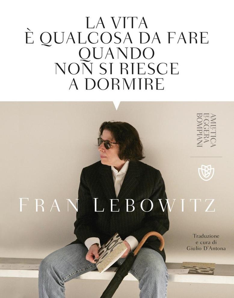 copertina libro fran lebowitz bompiani